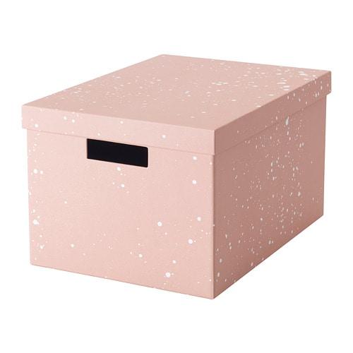 TJENA Storage Box With Lid   IKEA