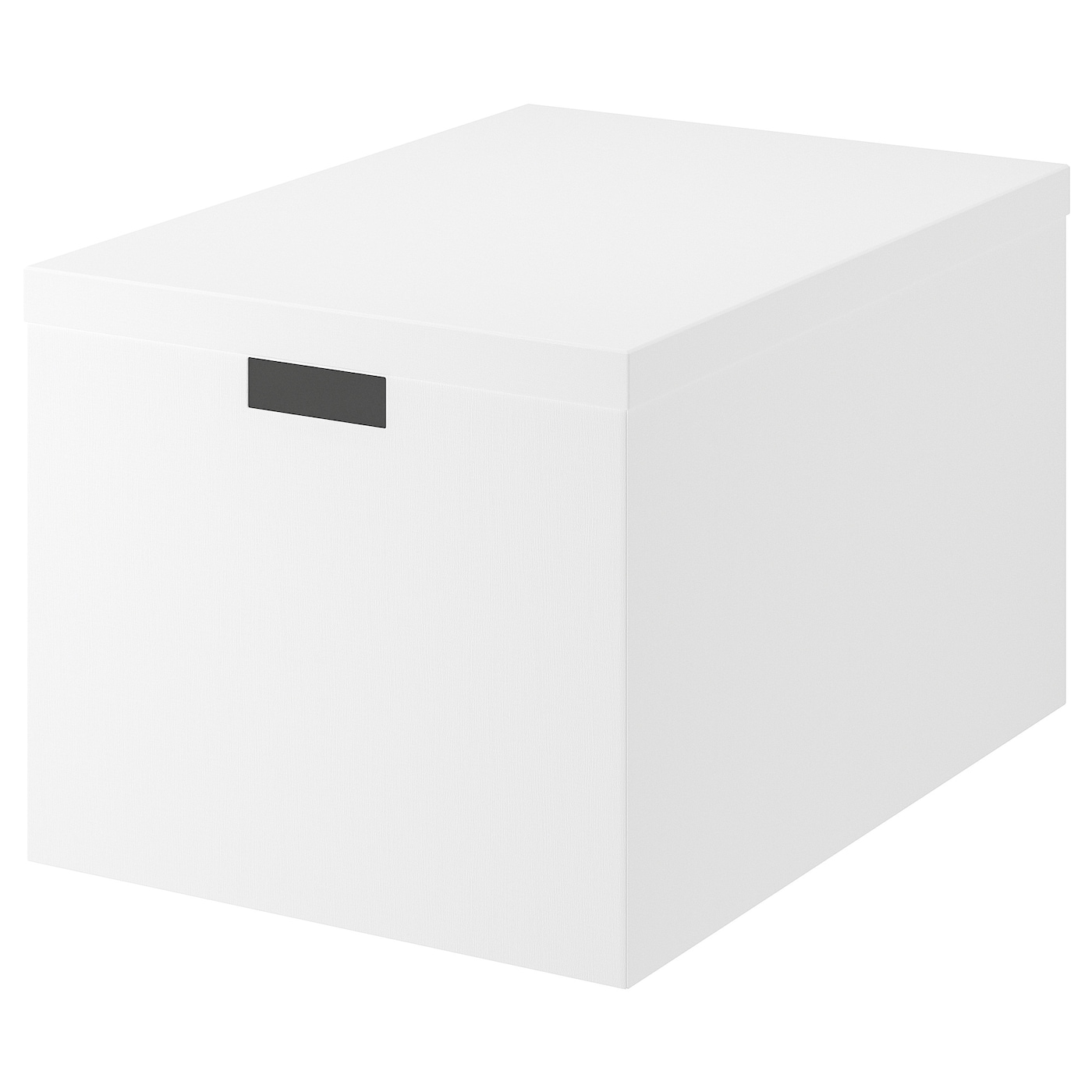 Tjena Storage Box With Lid White 13