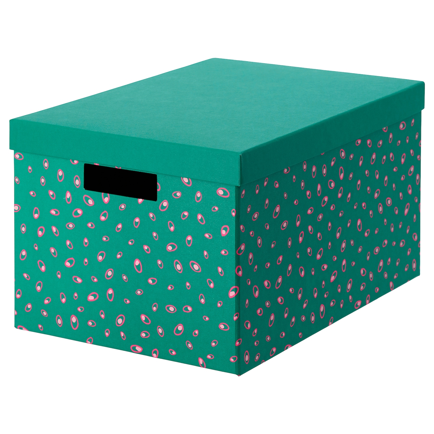 Tjena Storage Box With Lid Green