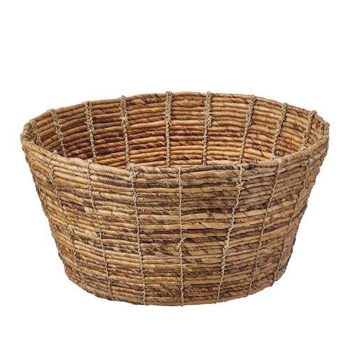 "TJILLEVIPS basket banana fiber 7 ¾ "" 15 ¾ """