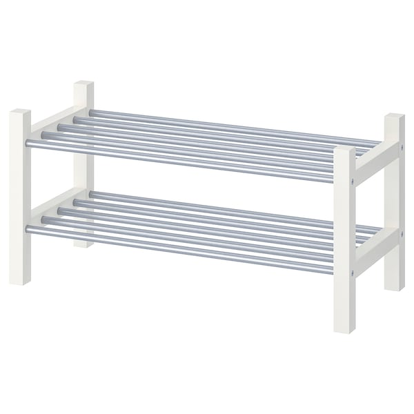 "TJUSIG Shoe rack, white, 31 1/8x12 5/8x14 5/8 """