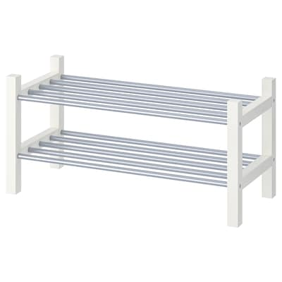 TJUSIG Shoe rack, white, 31 1/8 ""
