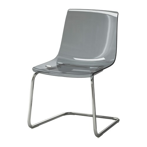 Tobias chair ikea for Chaises transparentes ikea