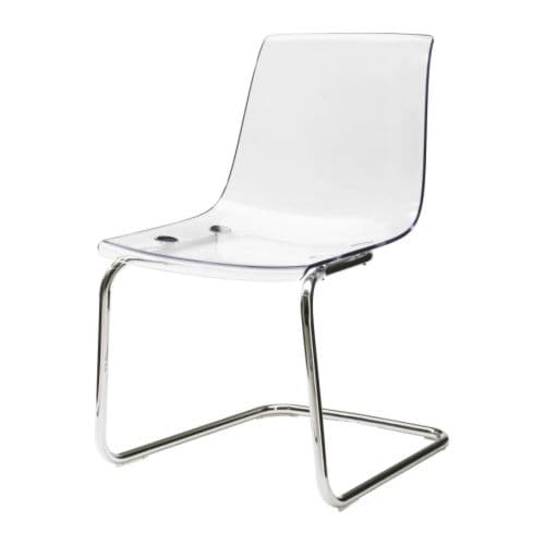 Tobias chair ikea - Chaise transparente ikea ...