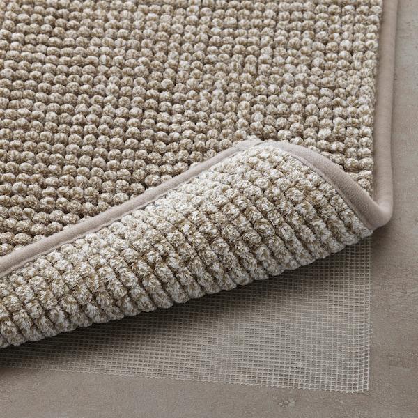 "TOFTBO bath mat beige-white mélange 32 "" 20 "" 4.31 sq feet 4.62 oz/sq ft"