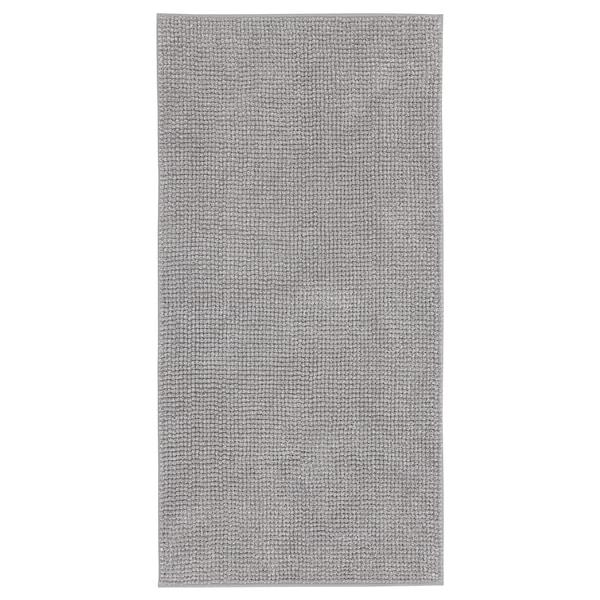 """TOFTBO Bath mat, gray-white mélange, 24x47 """""""