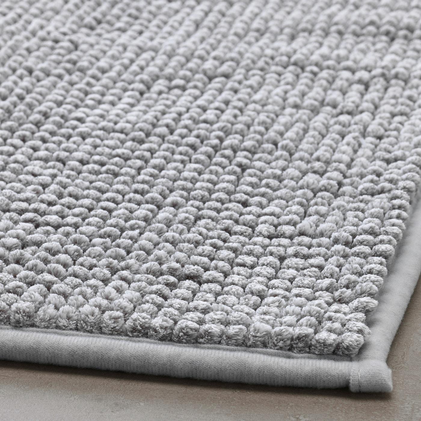 Picture of: Toftbo Bath Mat Gray White Melange Length 32 Ikea