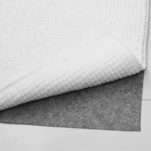 """TOFTBO Bath mat, white, 24x47 """""""