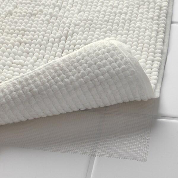 """TOFTBO Bath mat, white, 20x32 """""""