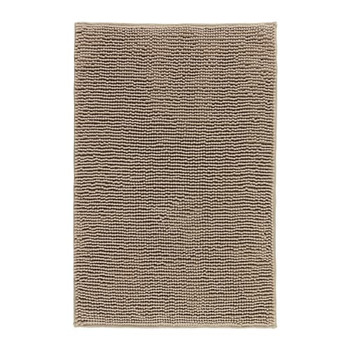 TOFTBO Bathmat IKEA Made of microfiber; ultra soft, absorbent and dries quickly.