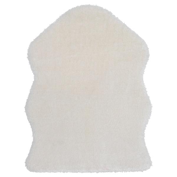 "TOFTLUND rug white 4 ' 11 "" 2 ' 11 "" 14.53 sq feet 4 oz/sq ft 2.79 oz/sq ft"