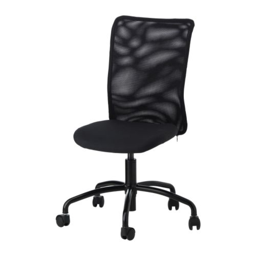 TORBJÖRN Swivel chair - Alme black - IKEA