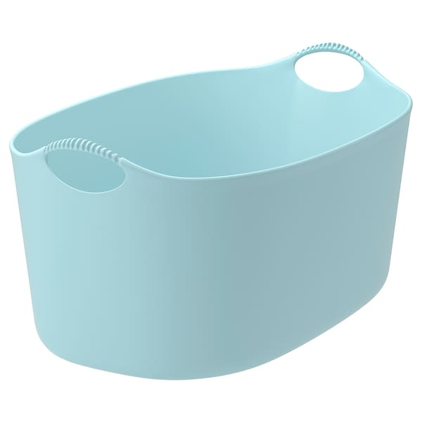 """TORKIS flexible laundry basket, in/outdoor blue 22 7/8 """" 15 """" 11 """" 33 lb 9 gallon"""
