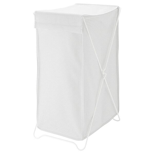 "TORKIS laundry basket white/gray 14 "" 18 ½ "" 26 ½ "" 24 gallon"