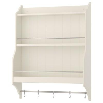"TORNVIKEN plate shelf off-white 31 ½ "" 7 ¾ "" 39 ¼ """