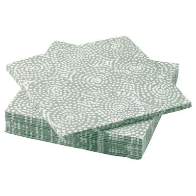 "TORRAST Paper napkin, green, 13x13 """