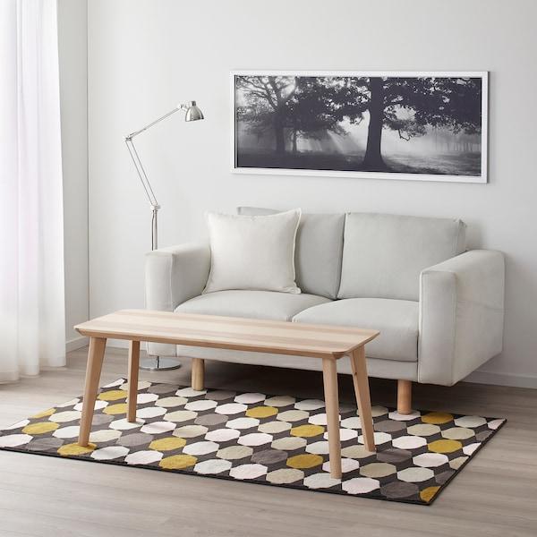 "TORRILD rug, low pile multicolor 6 ' 5 "" 4 ' 4 "" ½ "" 27.88 sq feet 6.72 oz/sq ft 2.03 oz/sq ft ¼ """