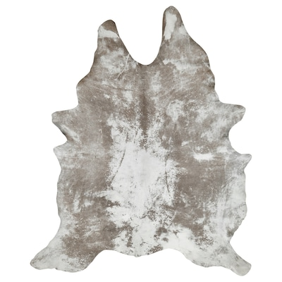 TORSTED Cowhide, white/gray