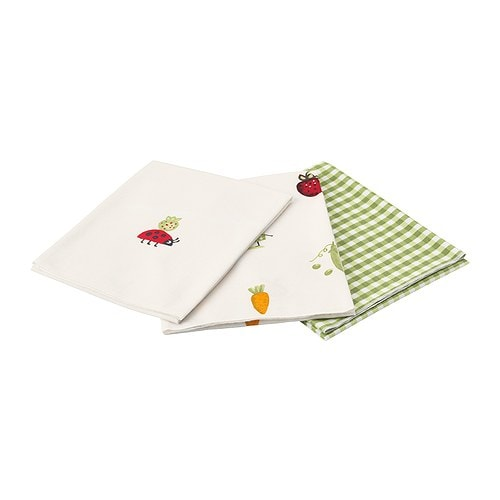 TORVA Baby blanket IKEA Serves different practical purposes such as a towel or washcloth, for use at the changing table or during mealtime.
