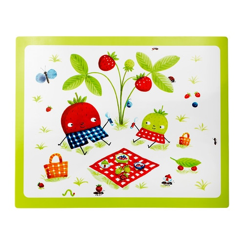 TORVA Place mat IKEA The placemat protects the table top and is easy to wipe clean.