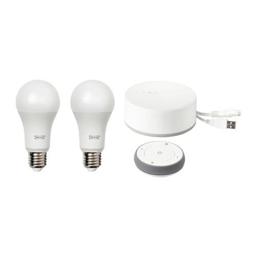 TRÅDFRI Gateway kit, white spectrum, white white spectrum/white -