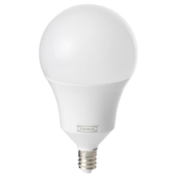 "TRÅDFRI LED bulb E12 600 lumen wireless dimmable white spectrum/globe opal 600 Lumen 2700 K 2 ¼ "" 2 ¼ "" 4 ¼ "" 6.6 W"