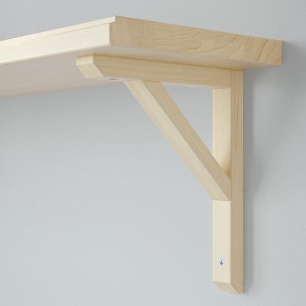 """TRANHULT / SANDSHULT Wall shelf, aspen, 31 1/2x7 7/8 """""""