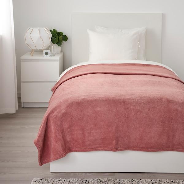 """TRATTVIVA Bedspread, dark pink, 59x98 """""""