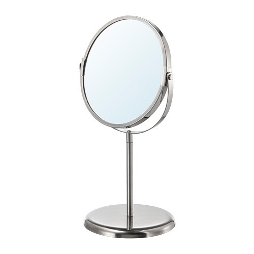 TRENSUM Mirror, stainless steel stainless steel -