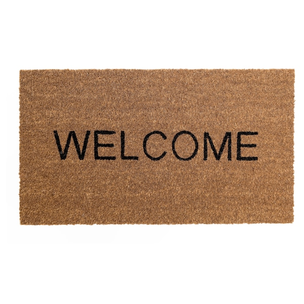 "TRIABO door mat natural 2 ' 4 "" 1 ' 4 "" 3.01 sq feet"