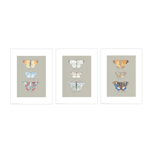 Trilling Poster Set Of 3 Ikea