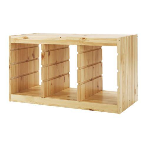 Sale alerts for Ikea TROFAST Frame, pine - Covvet