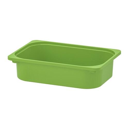 Trofast Storage Box Green Ikea