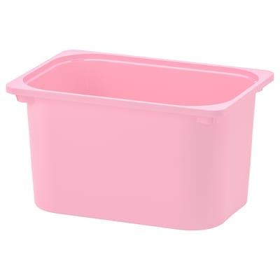 "TROFAST Storage box, pink, 16 ½x11 ¾x9 """