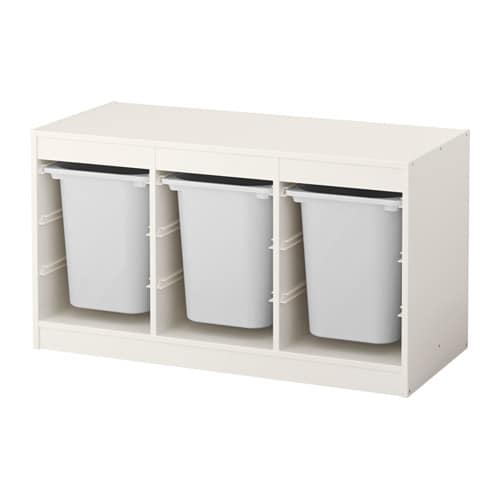 TROFAST Storage combination with boxes  IKEA -> Ikea Trofast Wandregal