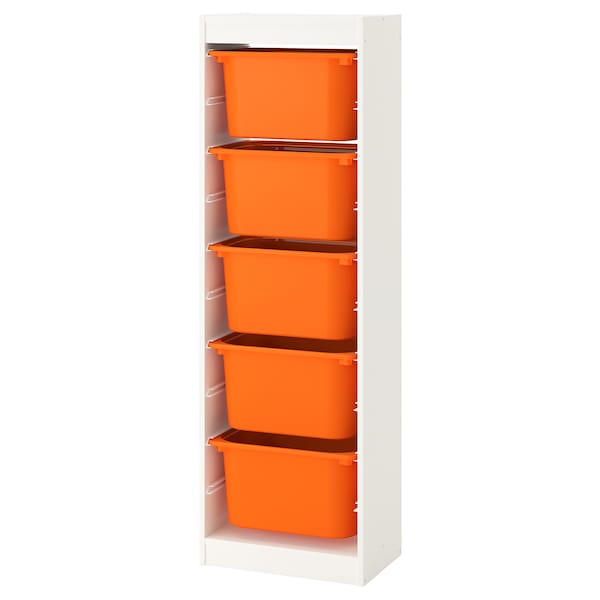IKEA TROFAST Storage combination with boxes