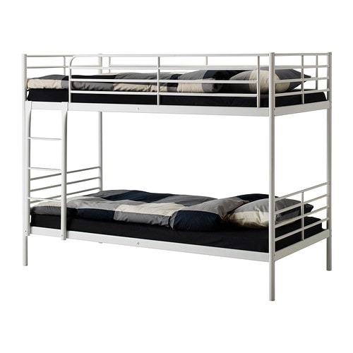 TROMSÖ Bunk bed frame IKEA Convenient for limited living spaces.