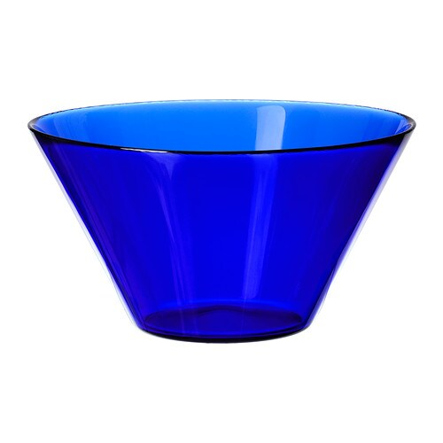 TRYGG Serving bowl , blue Diameter: 7