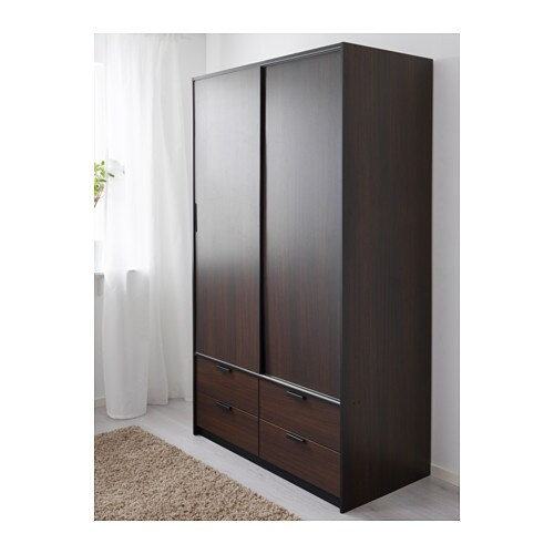 TRYSIL Wardrobe W Sliding Doors/4 Drawers   IKEA