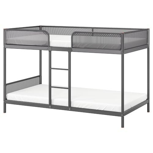 Tuffing Bunk Bed Frame Dark Gray Twin Ikea