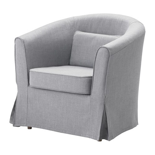 TULLSTA Armchair - Nordvalla medium gray - IKEA