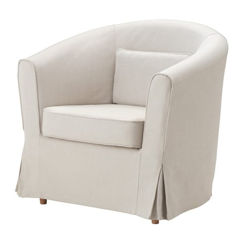 tullsta chair cover nordvalla beige ikea. Black Bedroom Furniture Sets. Home Design Ideas