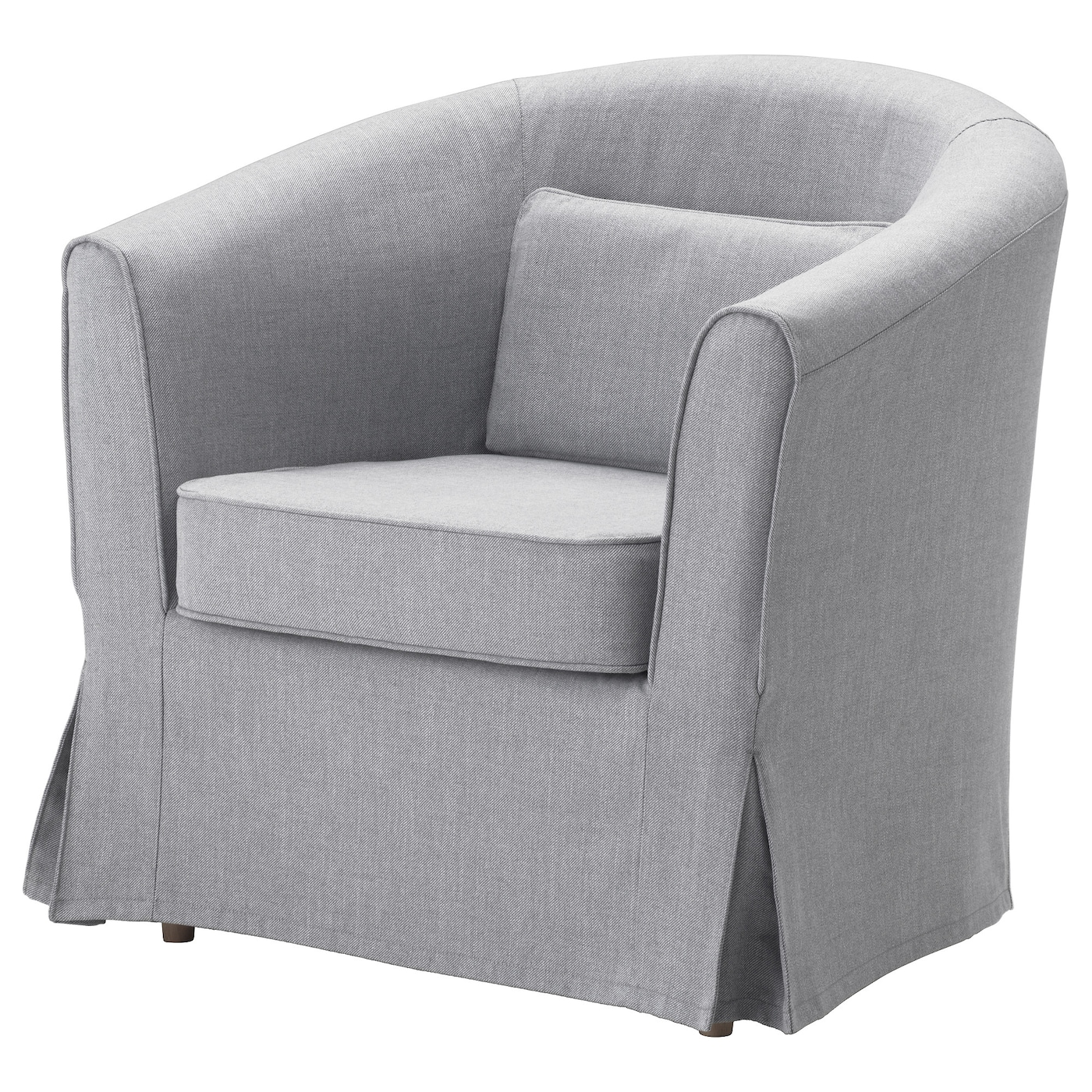 Tullsta Chair Cover Nordvalla Medium Gray Ikea