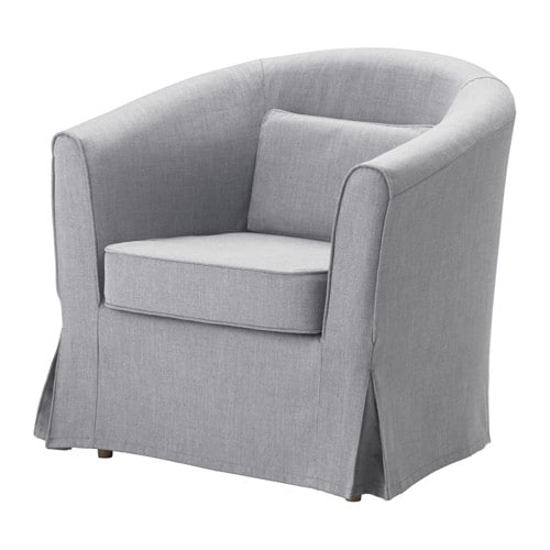 Tullsta chair nordvalla medium gray ikea for Housse pour fauteuil club