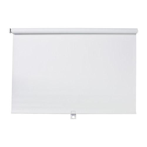 Window treatments 1 installing an ikea window block out for Ikea tupplur window roller shades