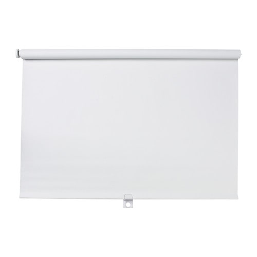 TUPPLUR Roller blind IKEA Cordless for increased child safety.  Blackout blind; special coating that does not let any light through.