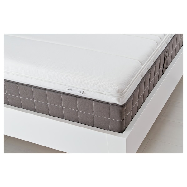TUSSÖY Mattress topper, white, Queen