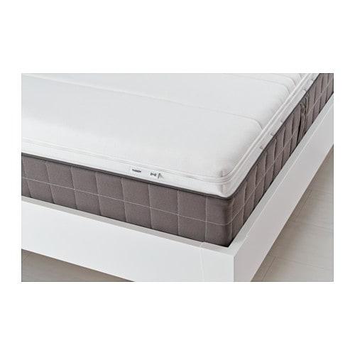 TUSSÖY Mattress topper, white Full white