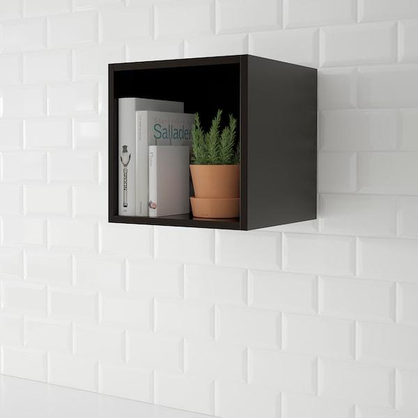 "TUTEMO Open cabinet, anthracite, 15x14 3/4x15 """