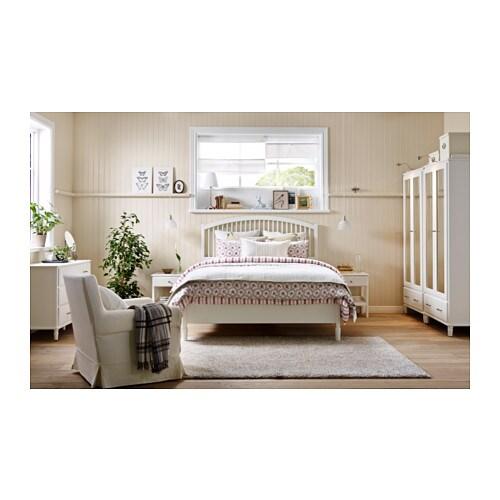TYSSEDAL Bed frame King Lnset slatted bed base IKEA